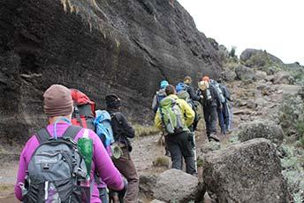 Climbing Mt. Kilimanjaro image