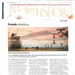 North Shore Magazine May 2009 image